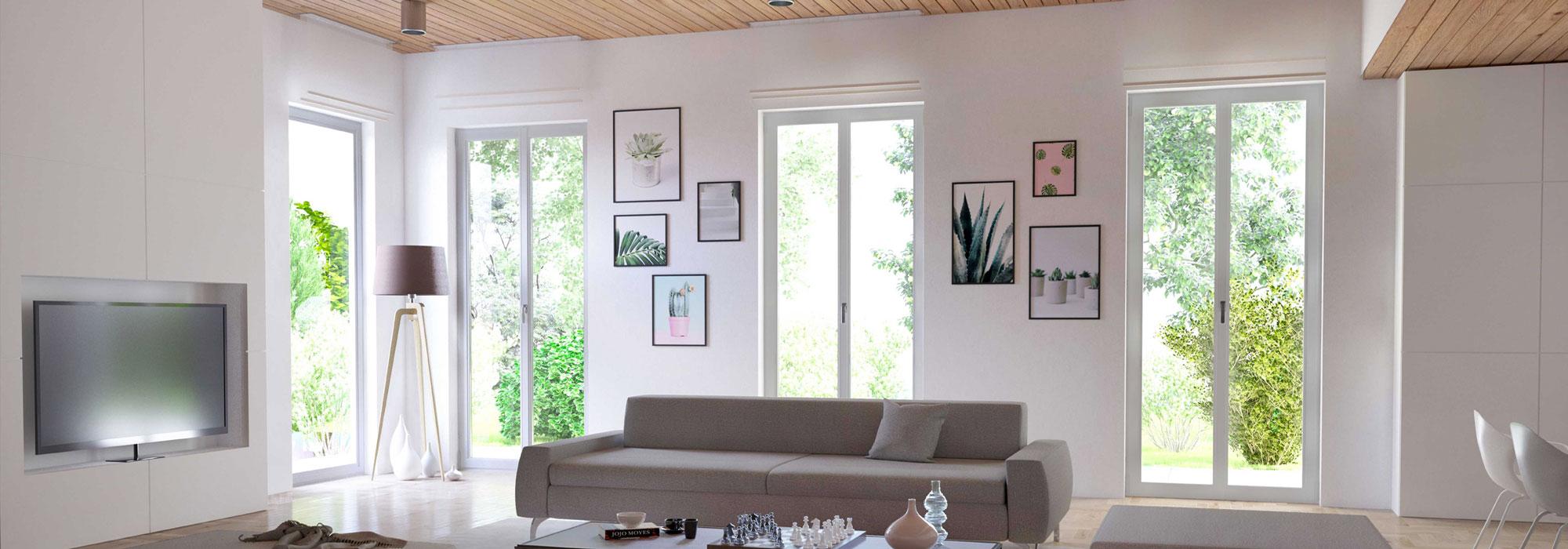 Le nuove finestre Konfortline di WnD.